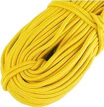Elastisch naaigaris dunne band 2 mm geel elastisch koord lint smalle tape, elastische band, touw voor handgemaakte doe-he...
