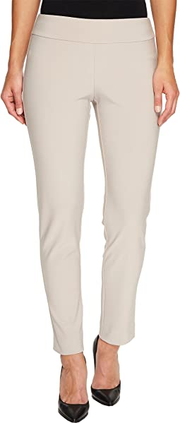 Microfiber Long Skinny Dress Pants