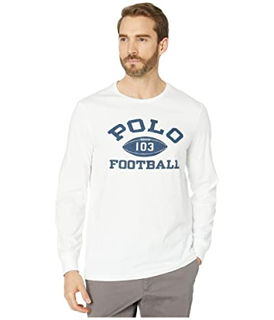 Polo Ralph Lauren Grays Hall Long Sleeve T-Shirt (White) Men