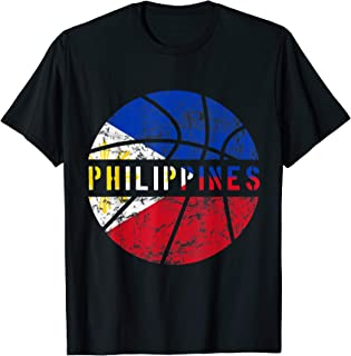 Philippines Basketball Jersey Gift Flag for Fans and Lovers T-Shirt