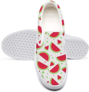 eredfs White Black Red British Plaid Mens Gift Flat Bottom Comfortable Footwear