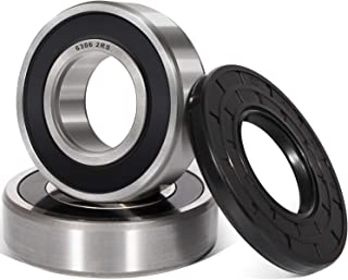 Camoo 131525500 Front Load Washer Tub Bearing and Seal Kit, Quiet and Smooth Replacement for Kenmore, Frigidaire, GE, 131275200, 131462800, 407639, AP2578105, B018HFK0A4