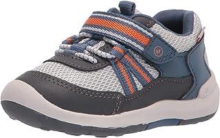 Stride Rite boys Srt Jasper Running Shoe, Grey, 5 Toddler US