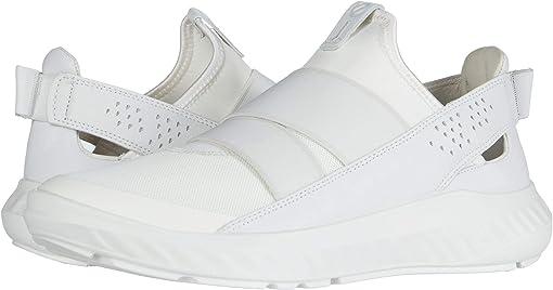 White/White/White Textile/Textile/Cow Leather
