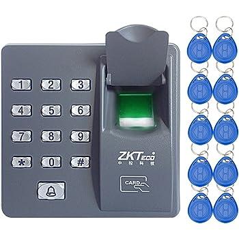Blocco Controllo Accessi Porta IP66 Esterno Supporto Serratura Impermeabile Lettore Impronte Digitali Sblocco Password per Ufficio a Casa