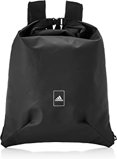 Adidas Unisex Polyester Sports Backpack (Black/Black)