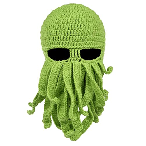 d77206c27d9 VBIGER Beard Hat Beanie Hat Knit Hat Winter Warm Octopus Hat Windproof  Funny Men   Women
