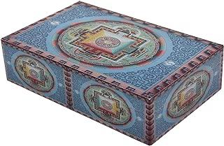 DharmaObjects Decorative Jewelry Trinket Keepsake Storage Box (Mandala, 8