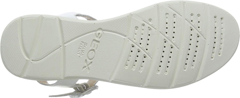 42 EU Geox D Sandal Hiver A Sandalias con Tira Vertical Mujer
