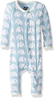 KicKee Pants Baby Boys' Essentials Print Fitted Coverall