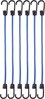 AmazonBasics TD090123 Bungee Cords   15.7 Inches, 6-Pack