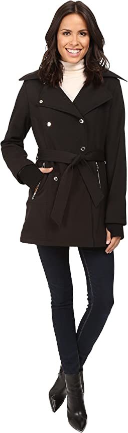 Double Breasted Softshell Jacket