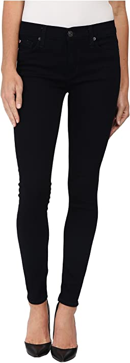Nico Mid Rise Super Skinny Jeans in Zerene
