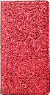 Xiaomi Mi A3 Rich Boss Leather Flip Wallet Case - Red