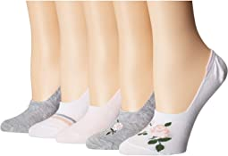 Footie with Roses 5-Pack