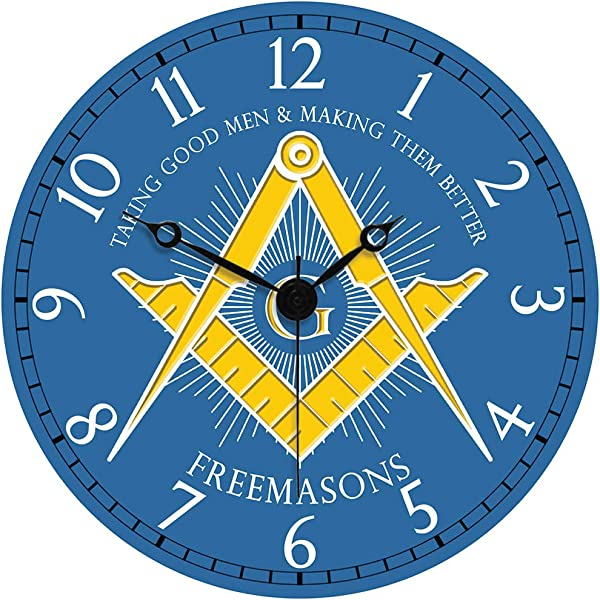 Sigma Impex CLK 112 Masonic Wall Clock