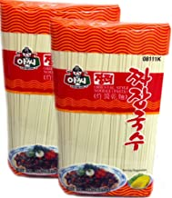 Assi Brand Oriental Style Noodle (Pasta) Dried Noodles, Jjajang, Net WT: 4 LBS (1.8Kg) (2-pack)