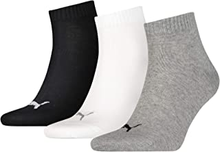 PUMA Quarter Plain Sock (Pack of 3)