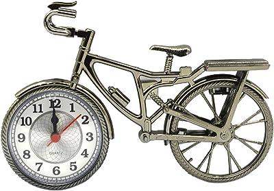 Novedad Vintage bricolaje bicicleta alarma reloj mesa escritorio ...