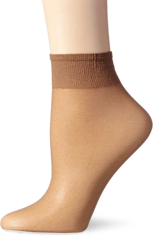 L'eggs Women's Everyday Ankle High Sheer Toe