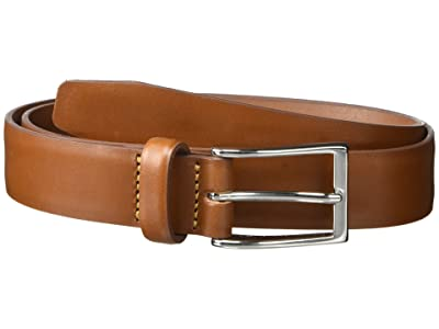 J.Crew New Leather Dress Belt (English Tan) Men