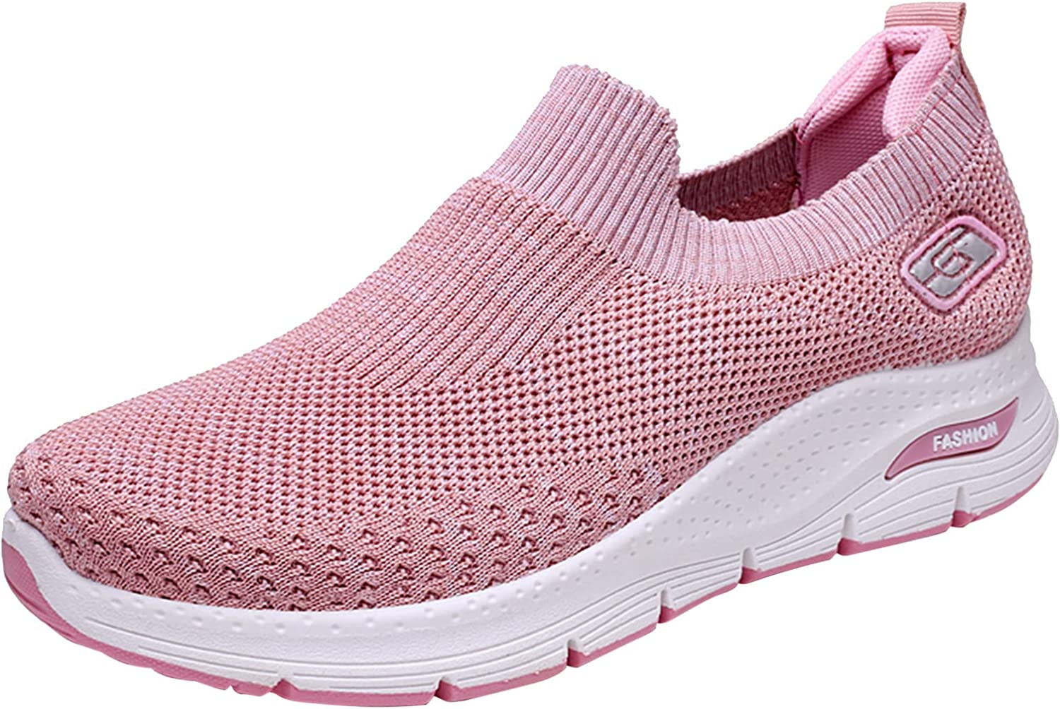 Womens Fashion Sneakers Leisure Breathable Outdoor Running Sport Shoes Casual Hiking Boots Plus Size
