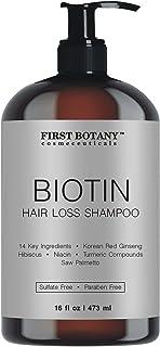 Hair Regrowth and Anti Hair Loss Shampoo 16 fl oz, with 14 DHT blockers- Daily Hydrating, Detoxifying, Volumizing Shampoo ...