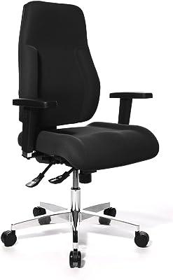 TOPSTAR PI99GBC0 - Silla de Escritorio de Oficina, Color Negro
