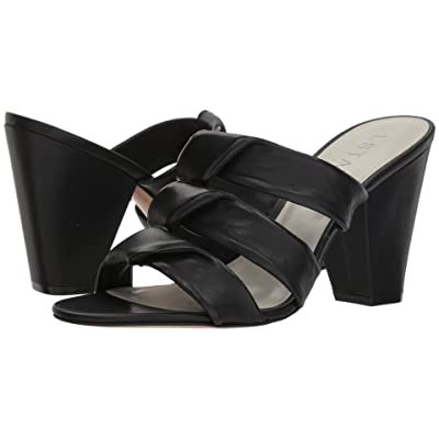1.STATE Aisha (Black Nappa) High Heels