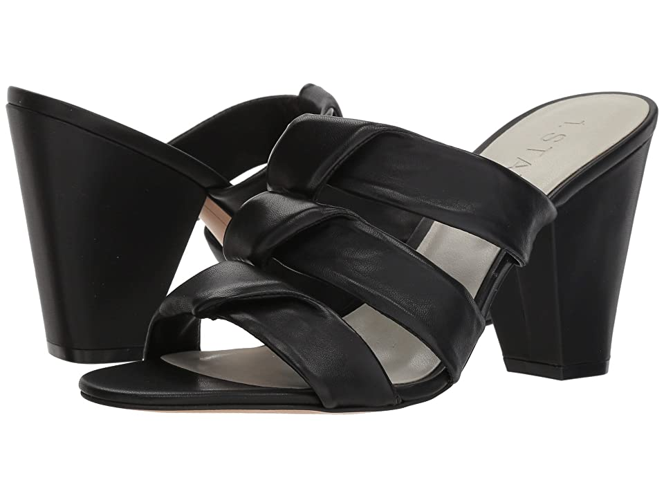 1.STATE Aisha (Black Nappa) High Heels
