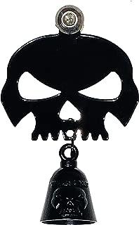 Kustom Cycle Parts Universal Gloss Black Skull Bell...