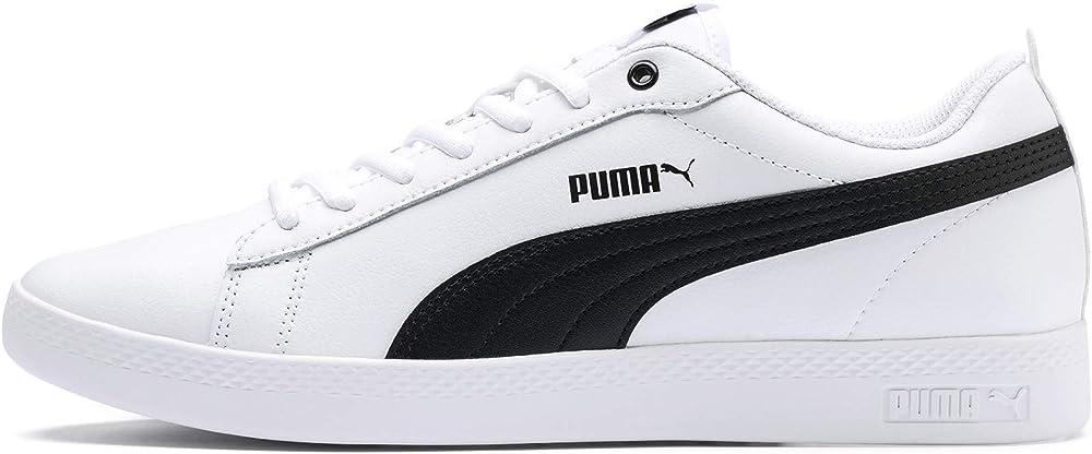 Puma smash wns v2 l scarpe sneakers da ginnastica per donna in pelle 365208E