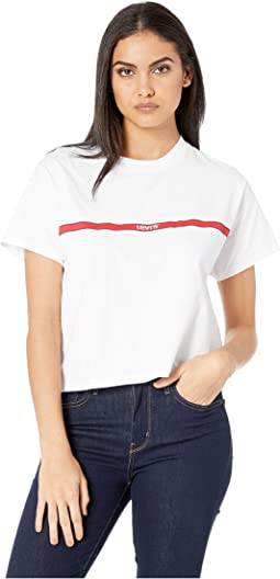e50a9535c28c7 Levis womens 3 4 sleeve sporty tee