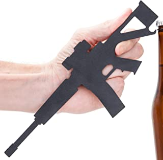 AR-15 Silhouette Rifle Bottle Opener made in the USA