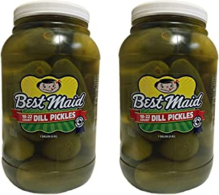 Best Maid Dill Pickles, 18-22 ct, 128 oz (2 Pack)