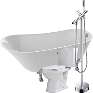 Amazon Com 60 Gallons Or More Clawfoot Bathtubs Bathtubs Tools
