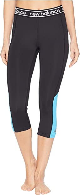 Color Block Accelerate Capris