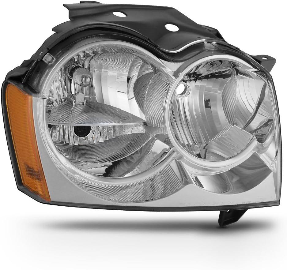 ACANII - WEB限定 For 2005-2007 Jeep Grand Headlight セール品 Cherokee Replacement