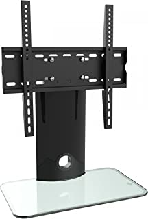 "RICOO FS303-W Support TV sur Pied, 30-55"" (env. 76-140cm), Orientable, Universel,.."