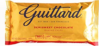 Guittard Semisweet Chocolate Chips 12 oz each