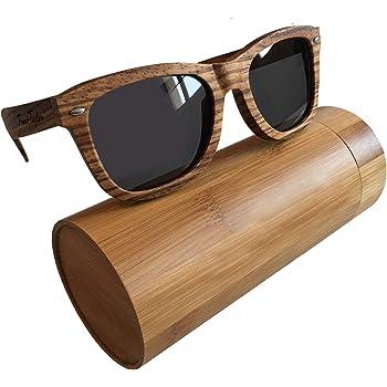 Handmade Wooden Sunglasses by Frank Taylor - 1 Year Warranty - Polarized - UV400