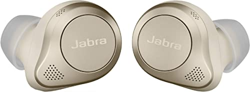 discount Jabra Elite 85t True 2021 Wireless Bluetooth Earbuds, Gold Beige – Advanced Noise-Cancelling Earbuds with Charging Case for Calls & Music – Wireless Earbuds with Superior Sound & Premium Comfort, 2021 12 outlet sale