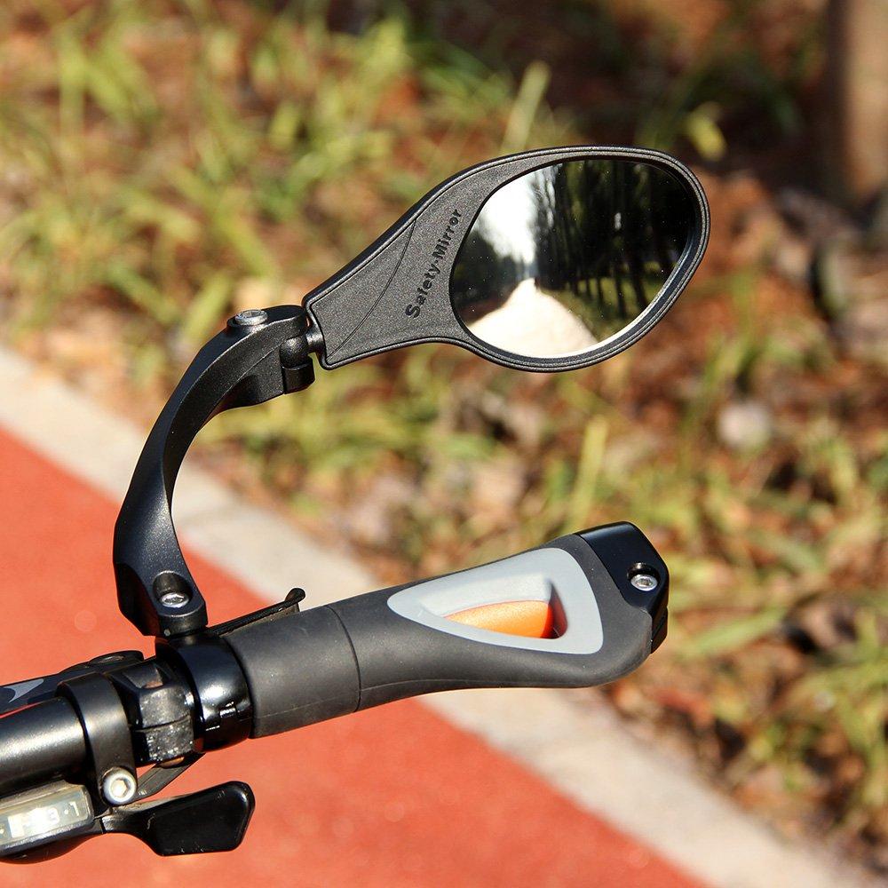 Espejo retrovisor para bicicleta PENVEAT MTB para bicicleta de ...