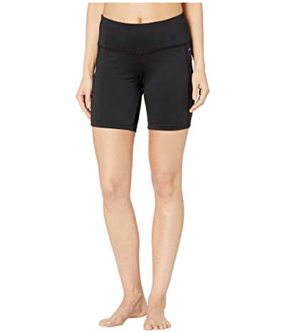 Jockey Active Competitor Performance Bike Shorts (Deep Black) Women