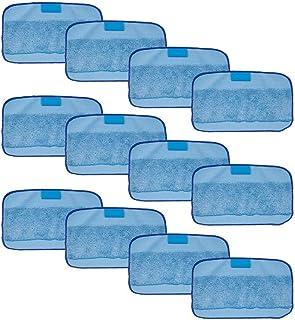 Logobeing Piezas de Repuesto Para Aspirador Para Irobot Braava 380 380T 320 Mint 4200 4205,15Pcs Microfibra Lavado Mopping Pa/ños