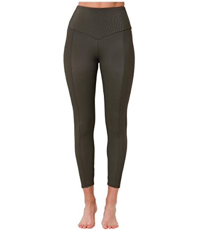 Onzie Sweetheart Midi Leggings (Olive) Women