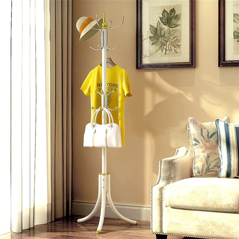 AIDELAI Coat Rack Simple Bedroom Coat Racks Landing Hangers Fashion Creative Iron Storage Rack (color    7)