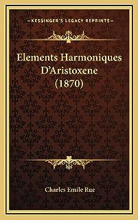 Elements Harmoniques D'Aristoxene (1870)