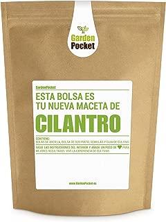 Garden Pocket - Kit de Cultivo de CILANTRO - Bolsa Maceta