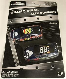 Lionel Racing 2019 1:87 #24 William Byron & #88 Alex Bowman Axalta Cars NASCAR Authentics